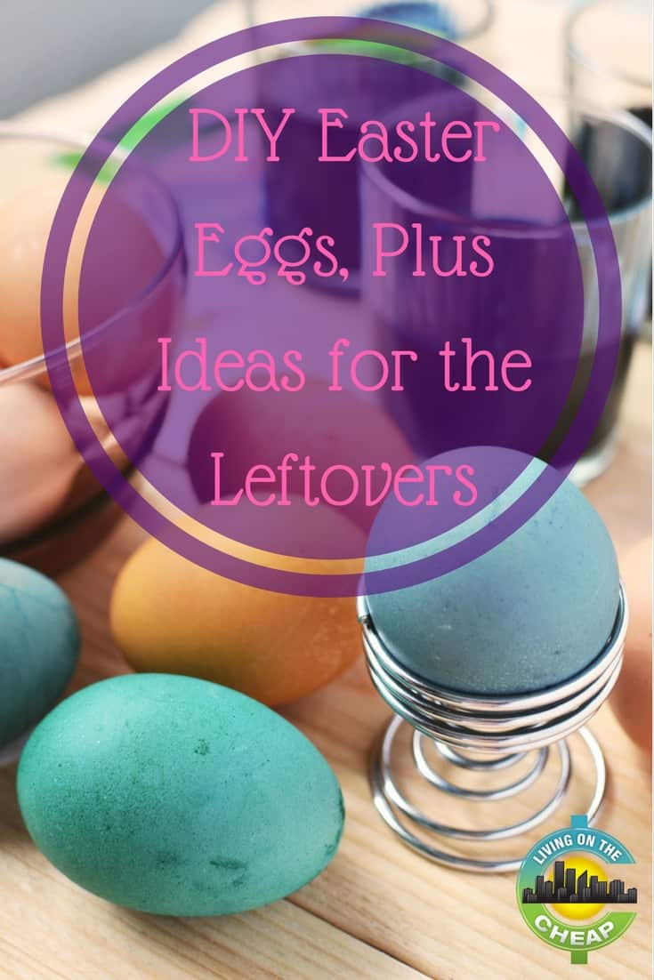 When it comes to Easter and decorating eggs it's important that the techniques I choose are easy enough for the kids,  simple enough that we can still prepare Easter dinner and cheap enough that they won't break the bank. Looking to put a twist on egg decorating this year? If so, check out these ideas I've gathered. #easter #Eastereggs #decorate #fun #frugalliving