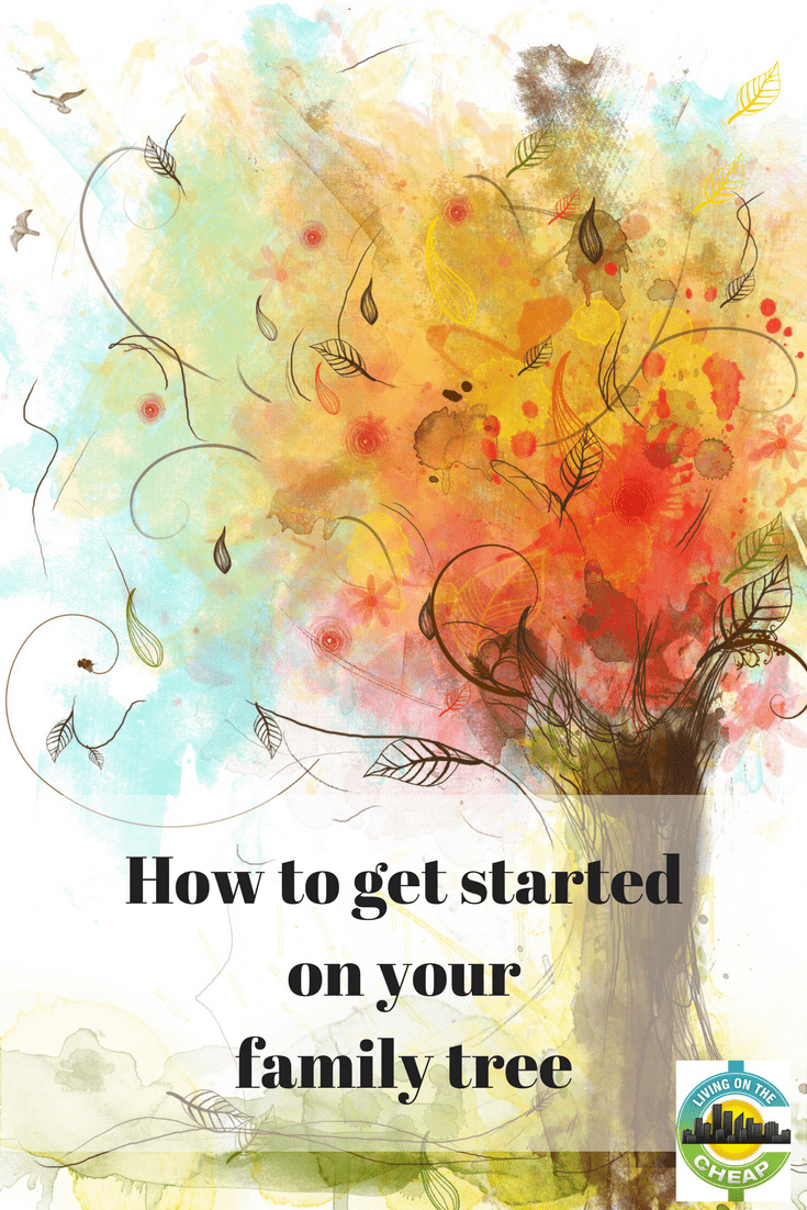 Many years ago I started working my family tree.  It was fun and interesting but like so many other things life got in the way and it fell by the wayside. I would advise anyone thinking about working on their family tree — there is no time like the present. Use this post to help you get started building your family tree! #familytree #familyhistory #startafamilytree