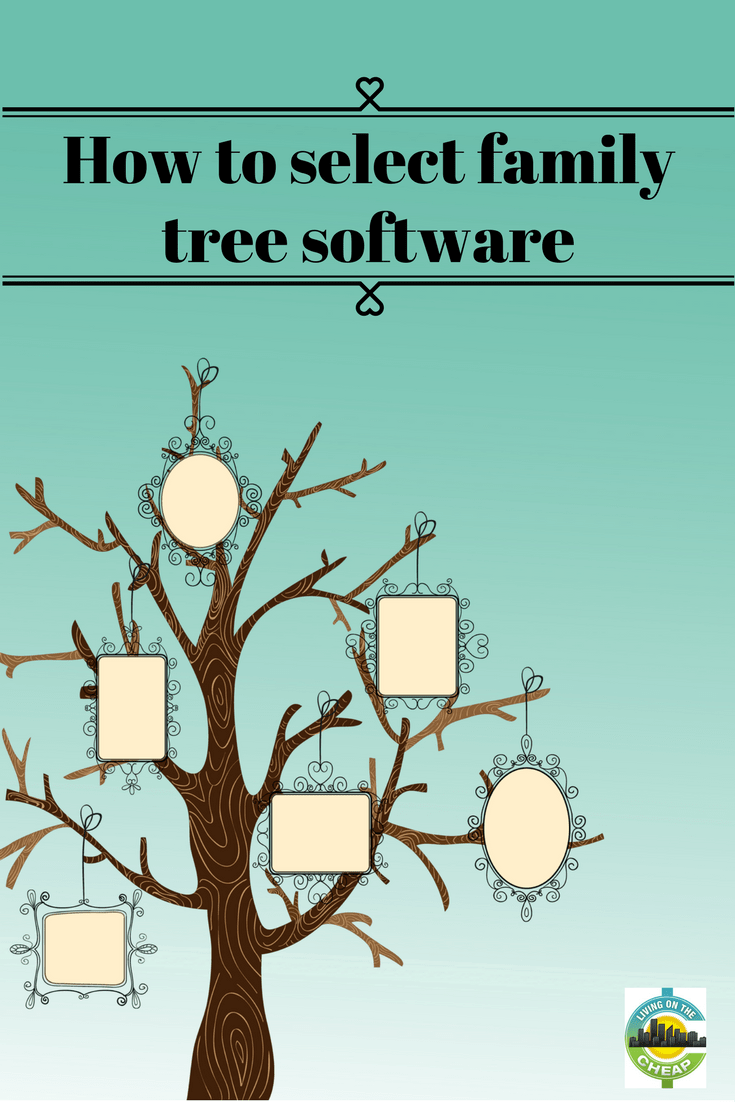 When I worked on my tree in eons ago about the only game in town was Family Tree Maker. Now the number of options are really overwhelming. This post breaks down everything to consider when looking at different softwares and what works best for what you're using, check it out now! #familytree #familyhistory #software #familytreesoftware