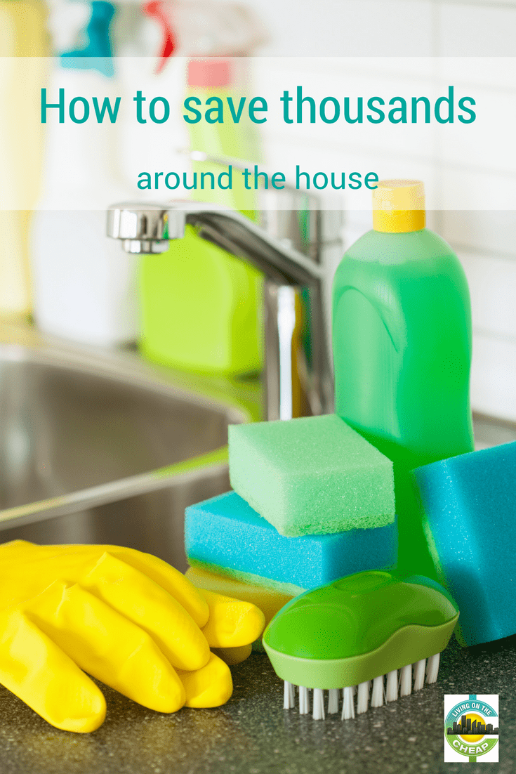 We are all looking for ways to save money in this day and age, especially if you are a homeowner. Homes and their regular upkeep and maintenance can easily drain your wallet. In this busy world, there can still be ways to DIY that doesn't consume every second of your free time but still saves thousands on home maintenance and we're sharing them in this post. Check it out! #homeowner #savemoney #moneysavintips