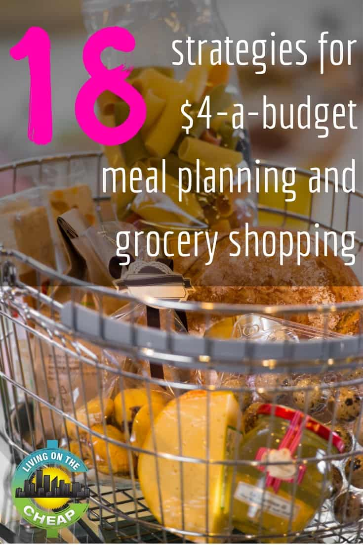 "The recent trend for $4 a day budget meal planning was popularized by Leanne Brown in her free online book ""Good and Cheap,"" developed primarily for those using SNAP (food stamp) benefits. When I heard about the project, I decided to try the $4-a-day food budget on a trial basis. #foodbudget #frugalliving #mealplanning"