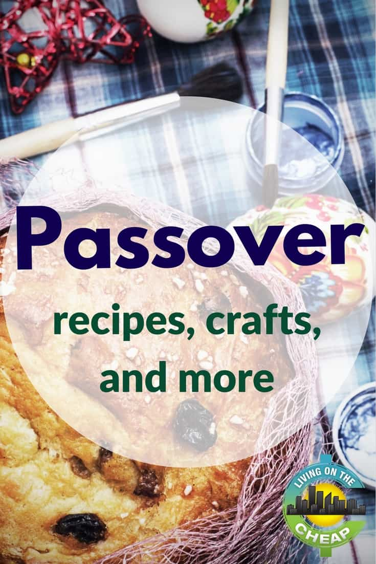 Here's where to find FREE last minute inspiration for Passover recipes, DIY crafts for kids, digital Haggadahs, Passover e-cards, and more. #passover #recipes #food #crafts