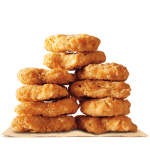 Burger King: 8 chicken nuggets for $1 — original or spicy