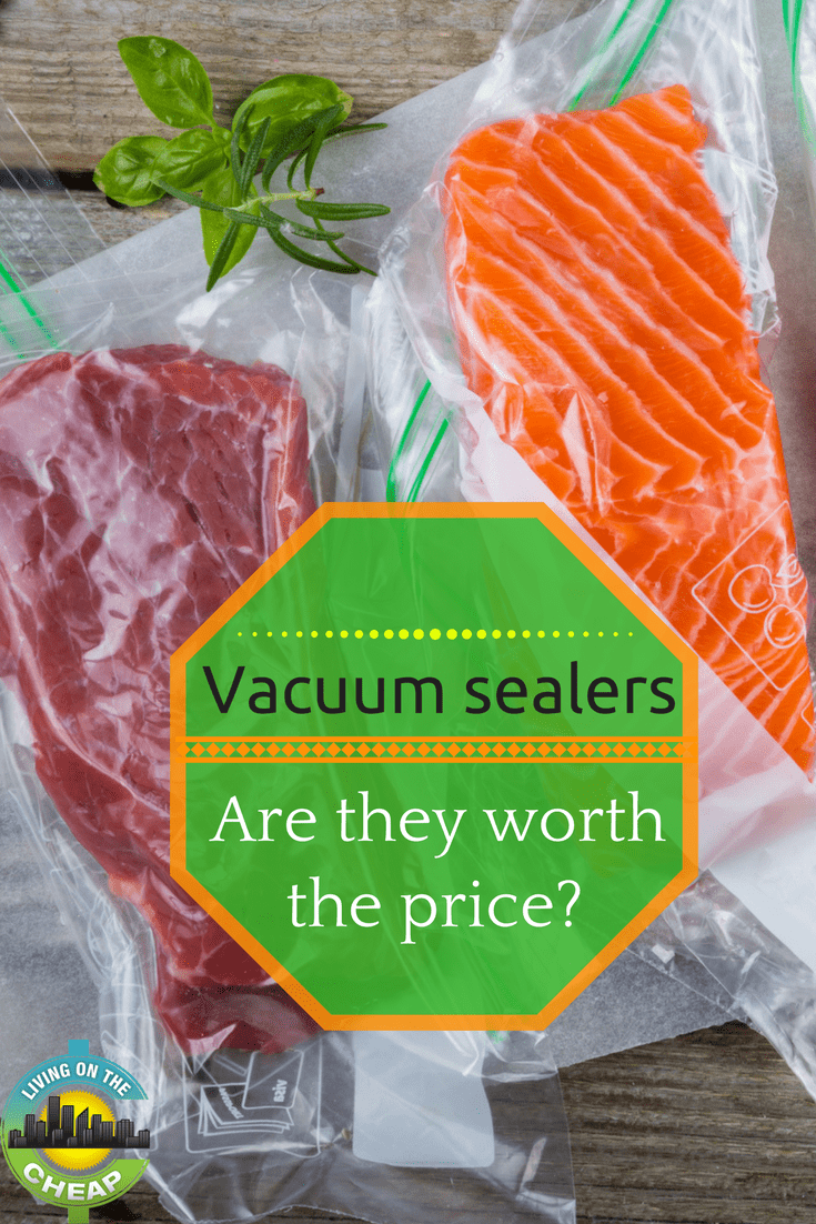 I hate wasting food, almost as much as I love saving money. So anything that can help me save money AND food is a good idea in my book. Since those are the key benefits to vacuum sealers, you know I'm going to find the most cost-effective ways to use them.