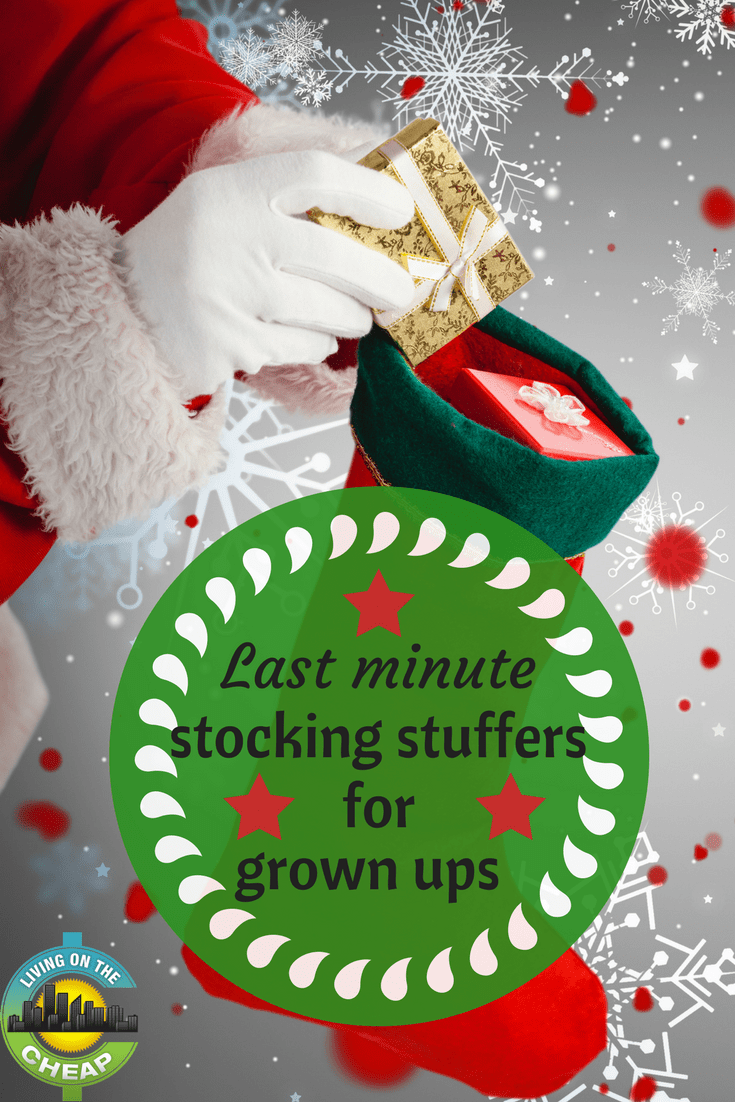 If you're sweating the fast approaching holidays go grab these last minute stocking stuffers for grown ups.