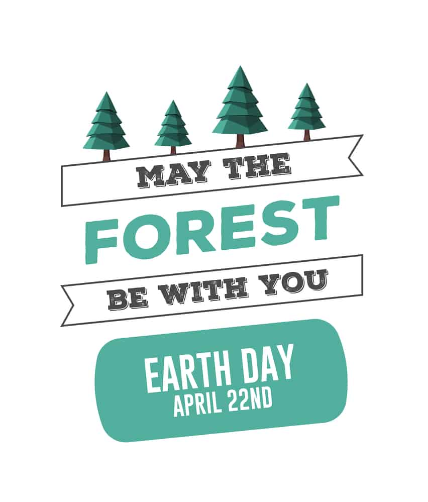 Earth Day was born in 1970, to help Americans to understand that taking care of the environment was not just a fad invented by the hippie culture. It is now celebrated by nearly 200 countries. It's easy to join in, and your efforts, no matter how small, make a difference. #earthday #environment
