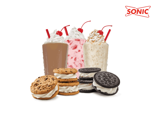 SONIC Drive-In: Half-price shakes and $1 49 ice cream