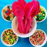 Swirl free frozen yogurt at TCBY on NFYD