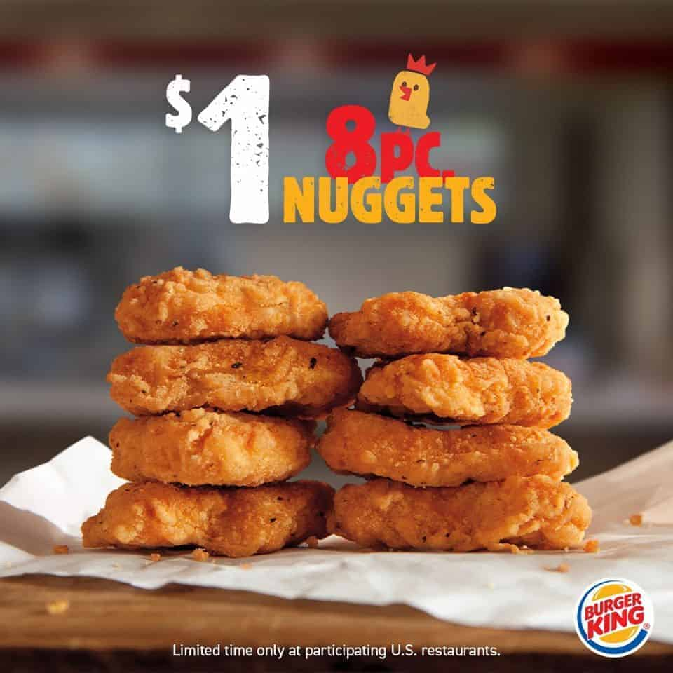 calories in burger king 10 piece chicken nuggets
