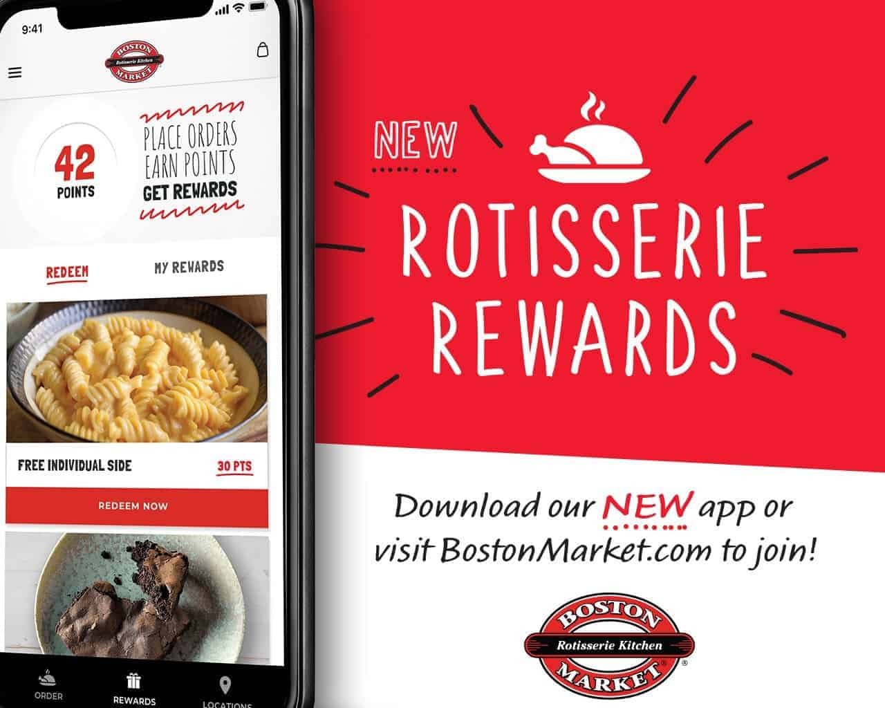 Boston Market cooks up loyalty program, Rotisserie Rewards