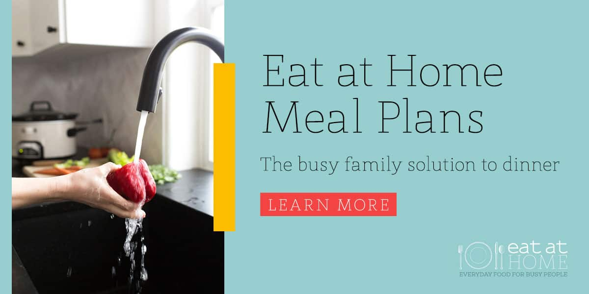 Eat at Home meal plans ad