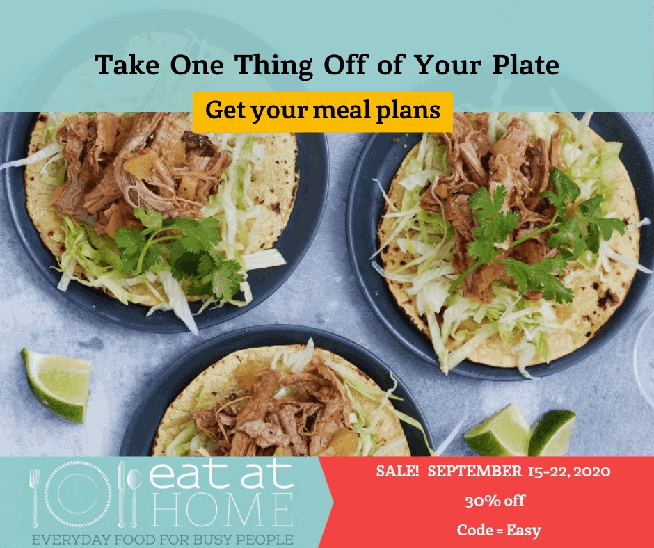 Eat at Home Meal Plans on sale