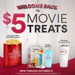Enjoy discounted matinées every day + $5 concessions specials at AMC Theatres