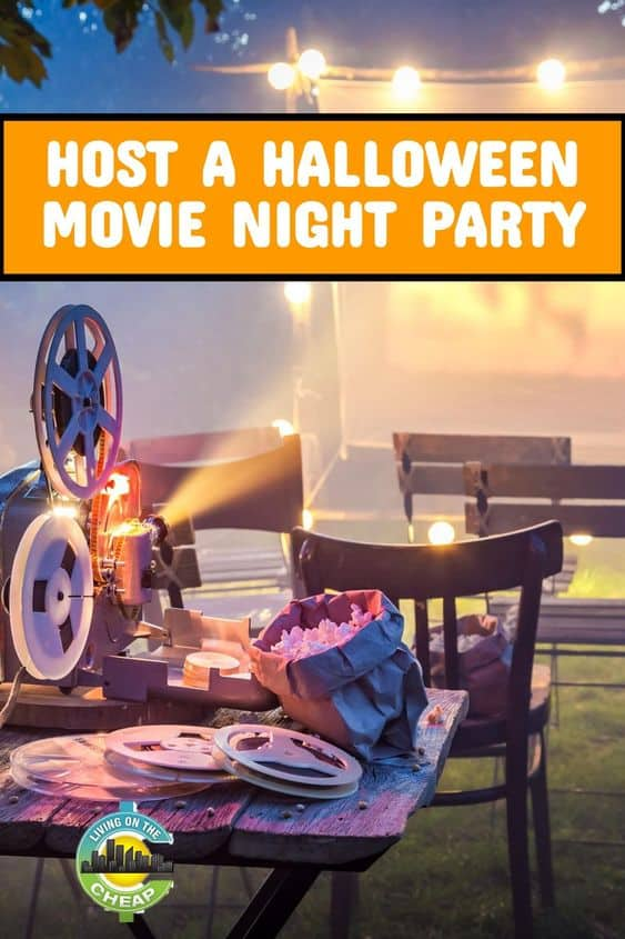 Host a Halloween movie night on the cheap!