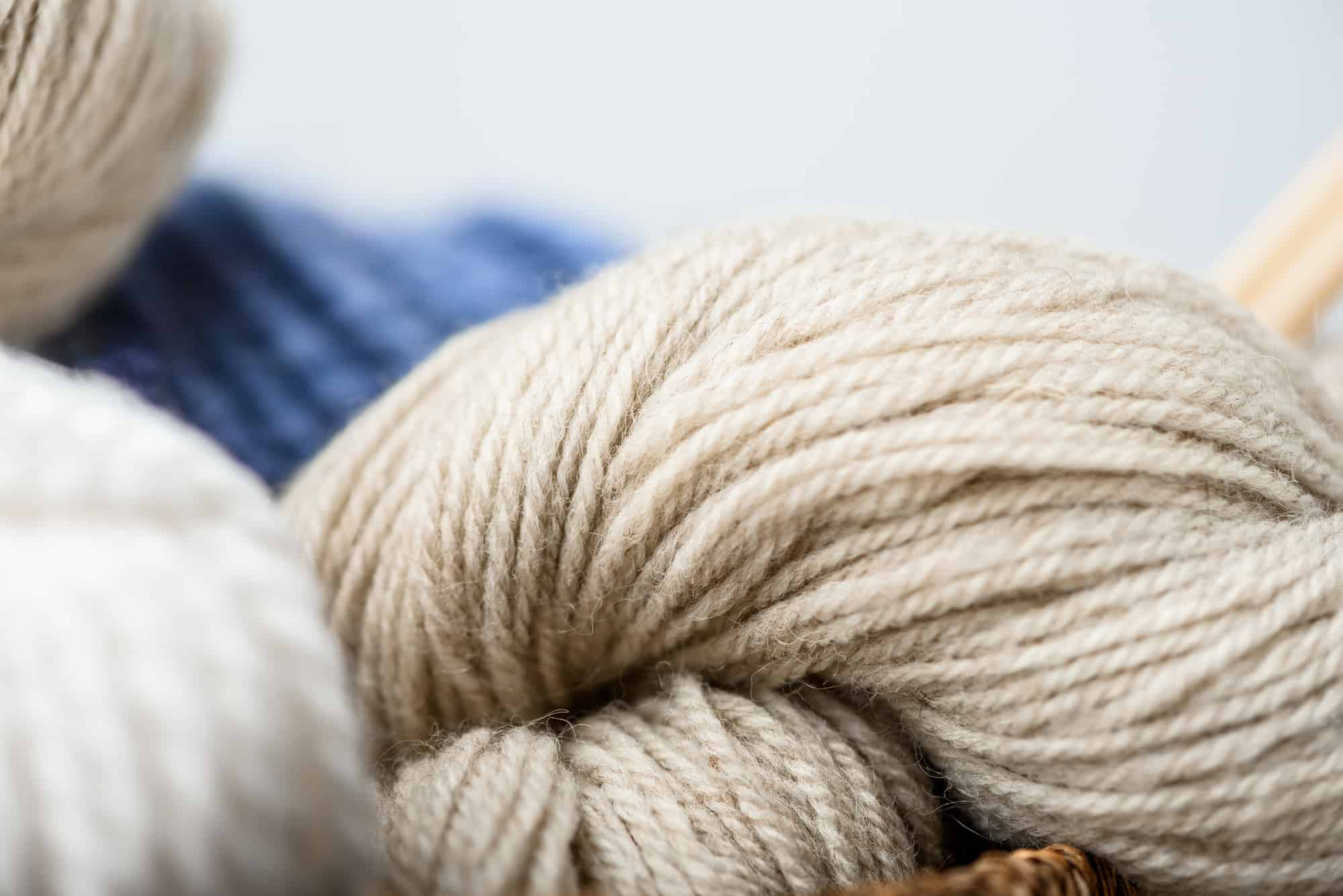 natural yarn fibers for making felted wool dryer balls