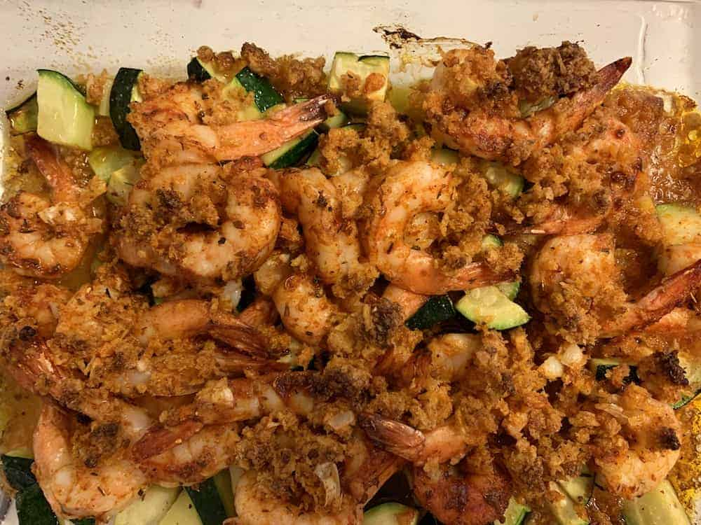 Meal kit services compared - Photo of Blue Apron cajun spiced shrimp