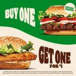 Burger King offers buy-one-get-one for $1 special