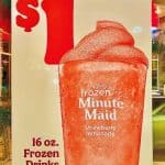 Burger King offers frozen drinks for just $1