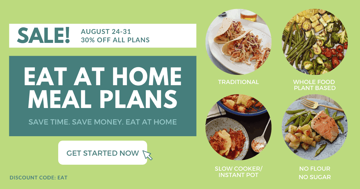 eat at home meal plan sale august 2021