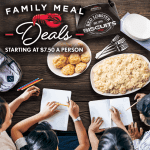 Red Lobster serves Family Meal Deals with big value