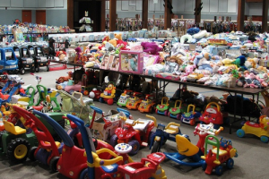 Consignment sales help you save on kids' stuff