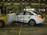 2011 Chevrolet Cruze side impact crash test