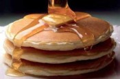 Free pancakes at Perkins Restaurant & Bakery