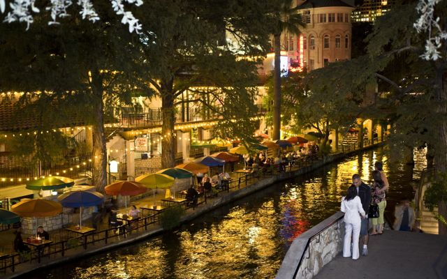 San Antonio, Texas, The Alamo, River Walk.
