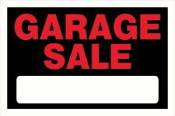 garage sale sign 300x200