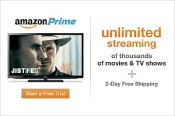 Free Amazon Prime 30-day trial for instant video & 2-day shipping