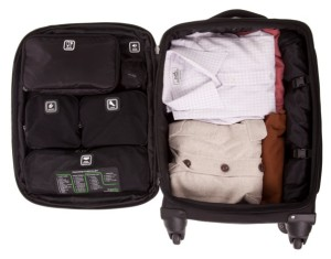 Genius Pack is a tidy multi-functional 22-inch, carry-on with designated compartments.