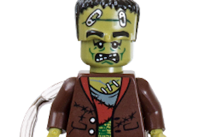 Kids get free Halloween surprise at Lego Store
