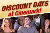 Discounts at Cinemark every Tuesday