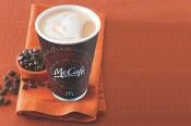 Get free coffee at McDonald's