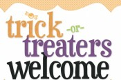 Get free Halloween decorations and party supplies