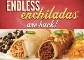 Endless enchiladas at On the Border
